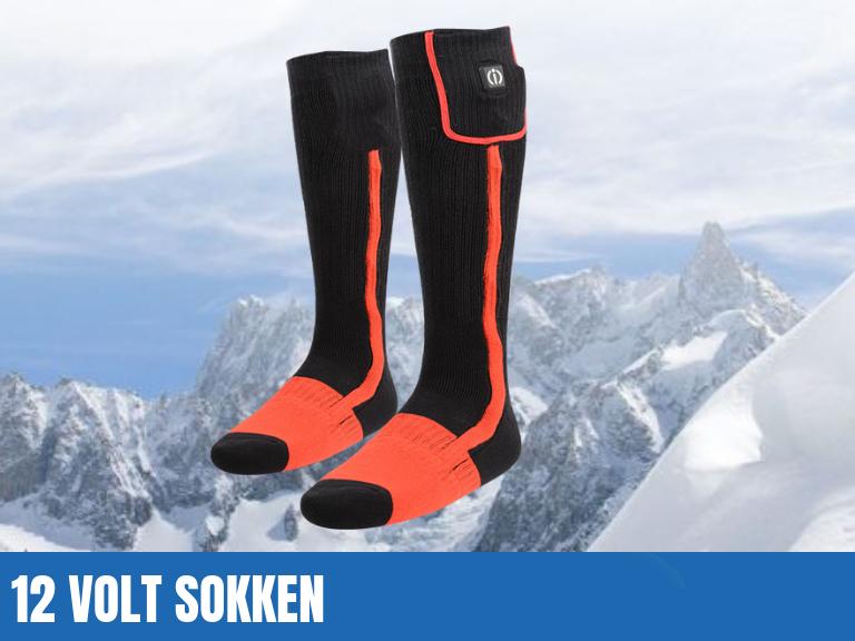 12 Volt elektrisch verwarmde sokken